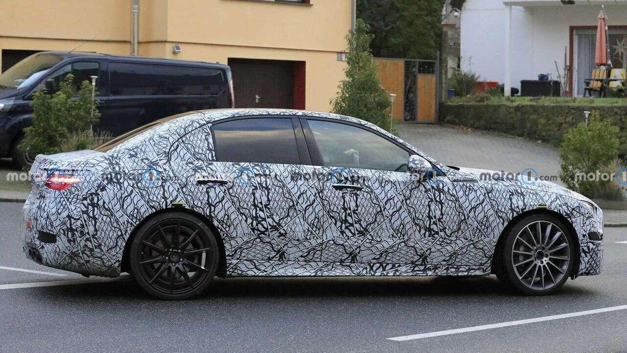 Najwidoczniej na rynek zmierza Mercedes-AMG C45