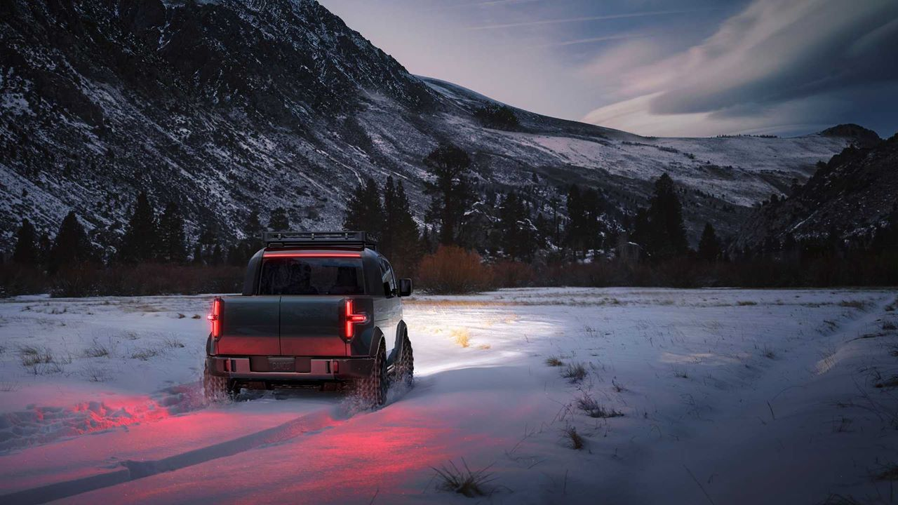 Elektryczny pickup Canoo, czyli nowość w niszy