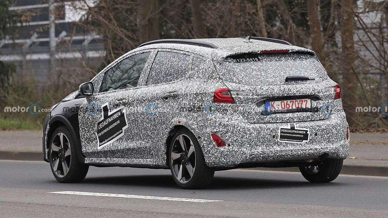 Odświeżony Ford Fiesta Active na zdjęciach