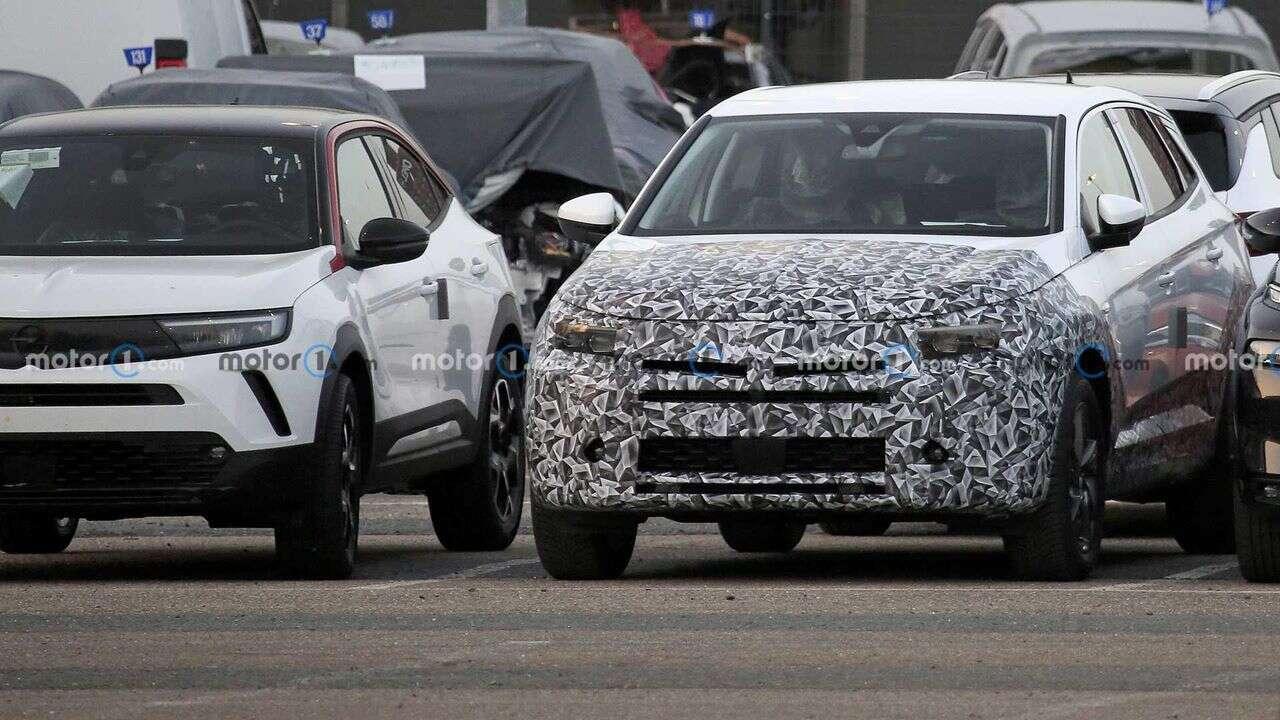 Odświeżony Opel Grandland X wyszpiegowany
