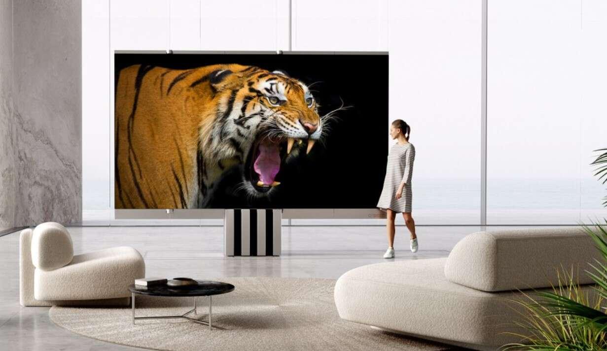165-calowy telewizor M1 z MicroLED,telewizor M1