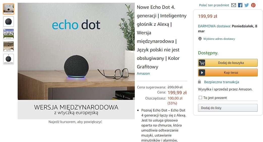 Polski Amazon już dostępny. Jak wygląda funkcjonalność sklepu?