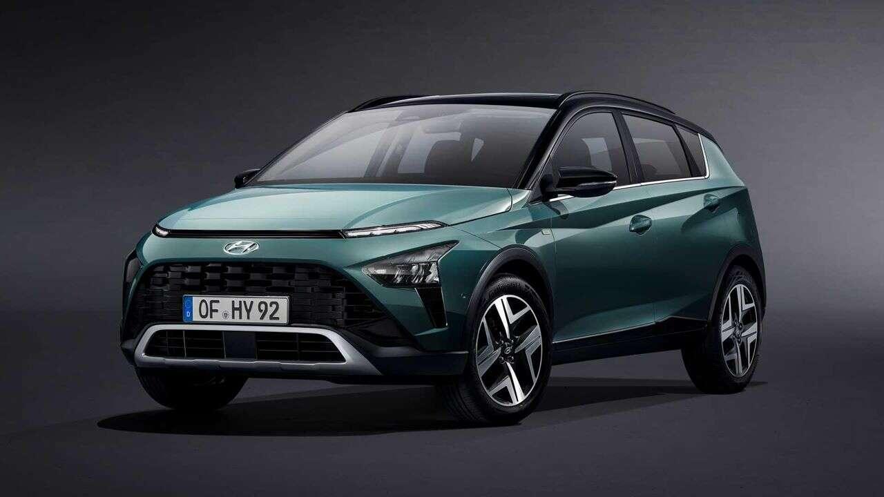 Premiera Hyundai Bayon 2022, crossover w skórze hatchbacka, Hyundai Bayon 2022