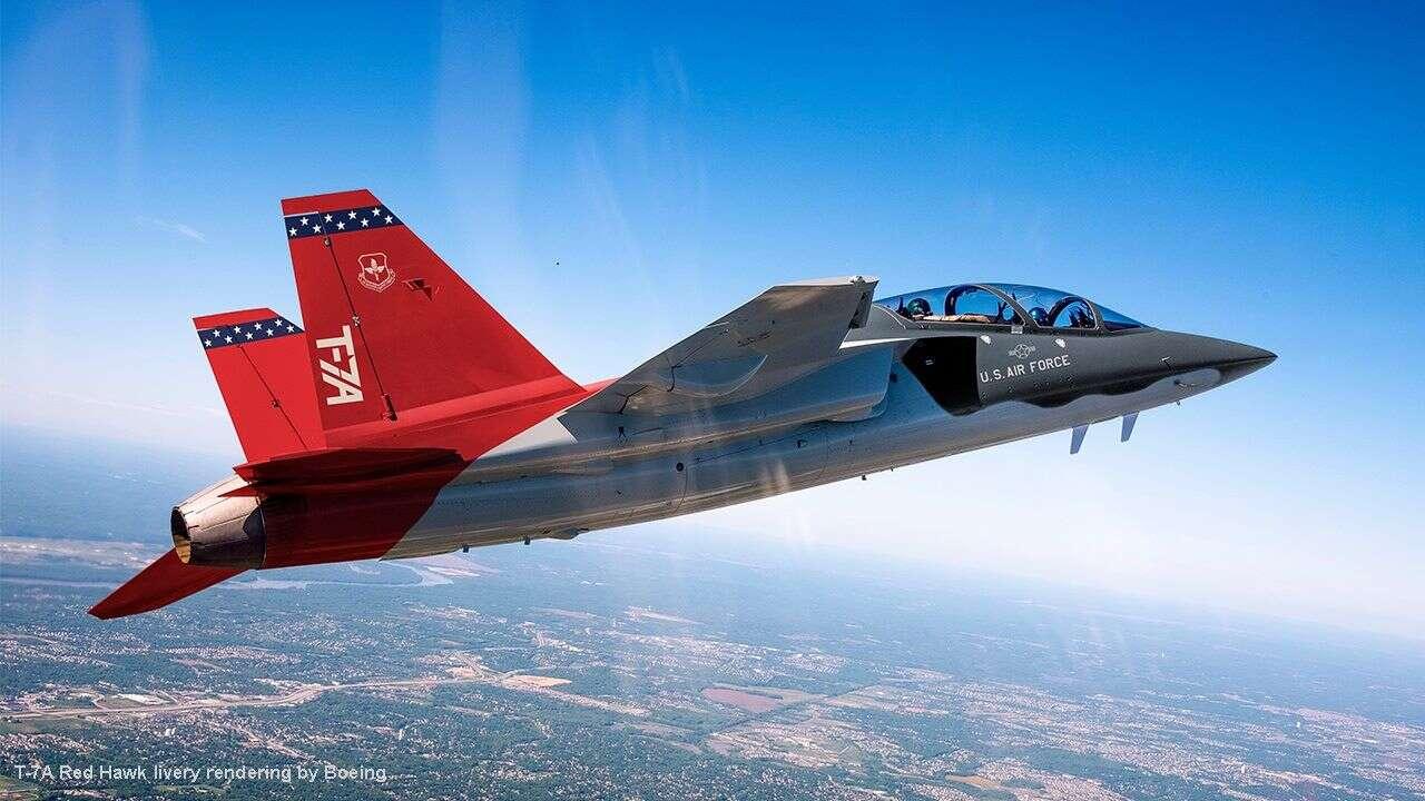 Produkcja T-7A Red Hawk Boeinga, nowy samolot szkoleniowy USA, T-7A Red Hawk