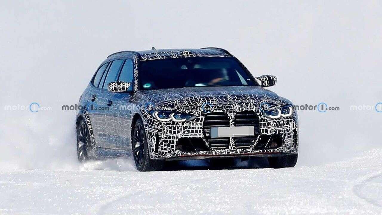 Prototyp BMW M3 Touring na zdjęciach