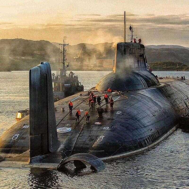 Rosyjskie okręty podwodne Typhoon,okręty podwodne Typhoon,