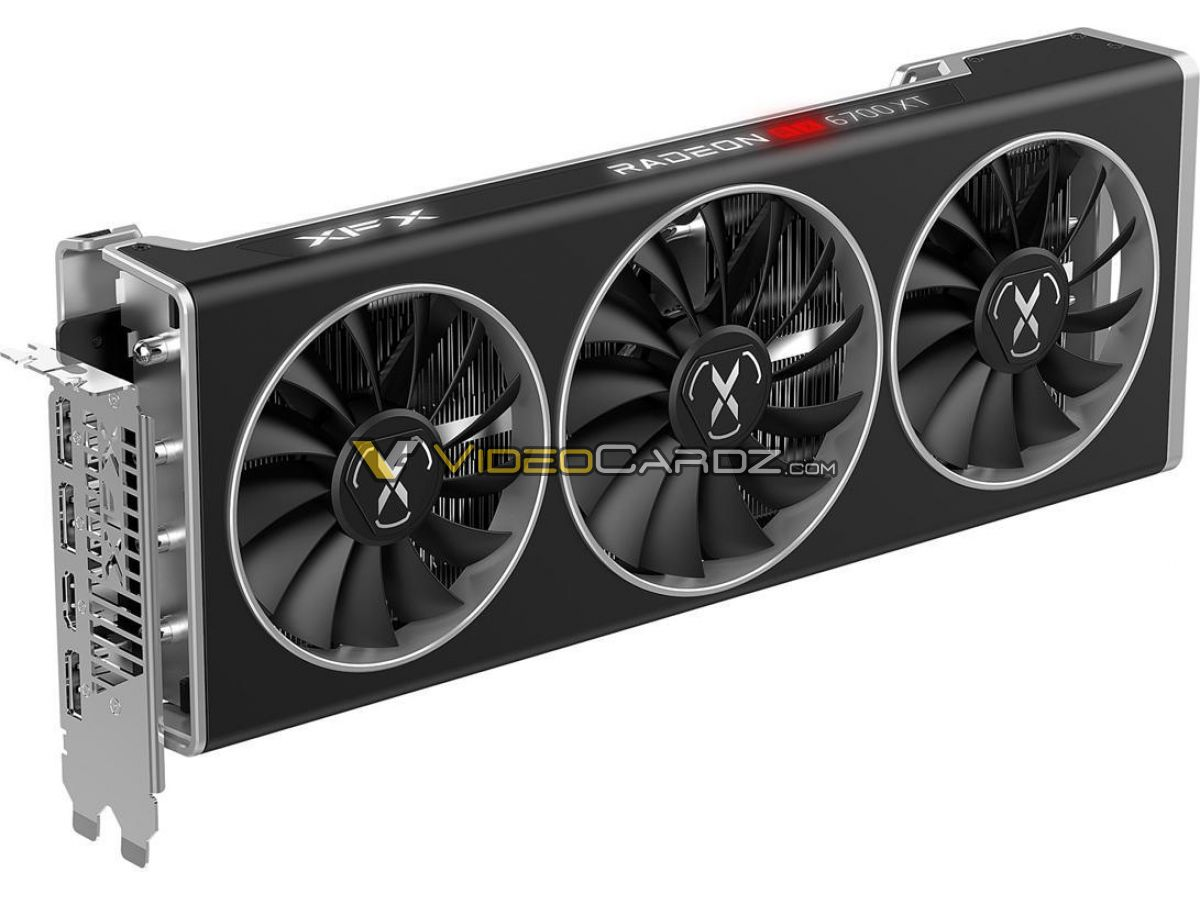 Zdjęcia XFX Radeon RX 6700 XT Speedster QICK319 i MERC319