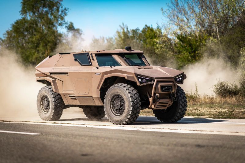 Scarabee, nowy opancerzony pojazd wojskowy Francji