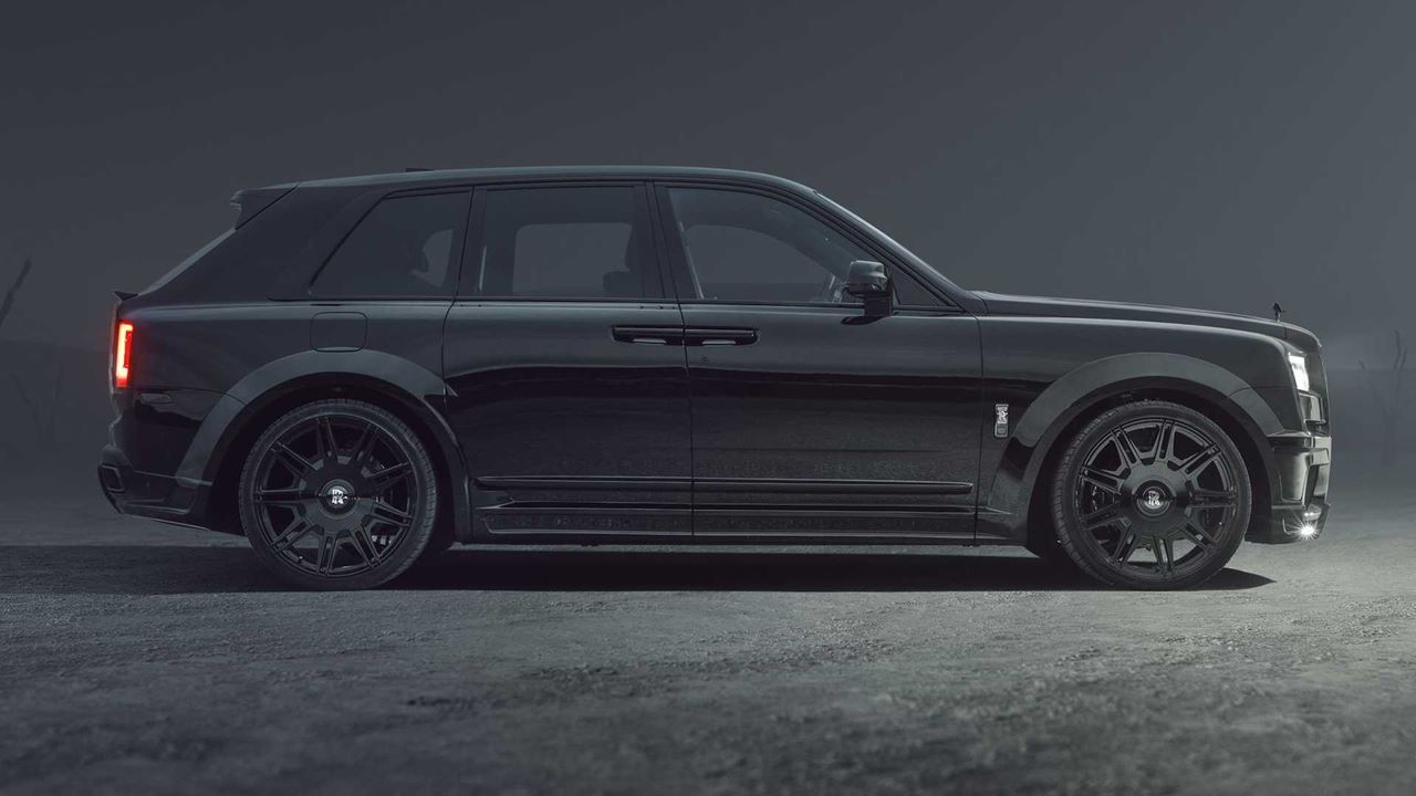 Spofec stuningowało model Rolls-Royce Cullinan