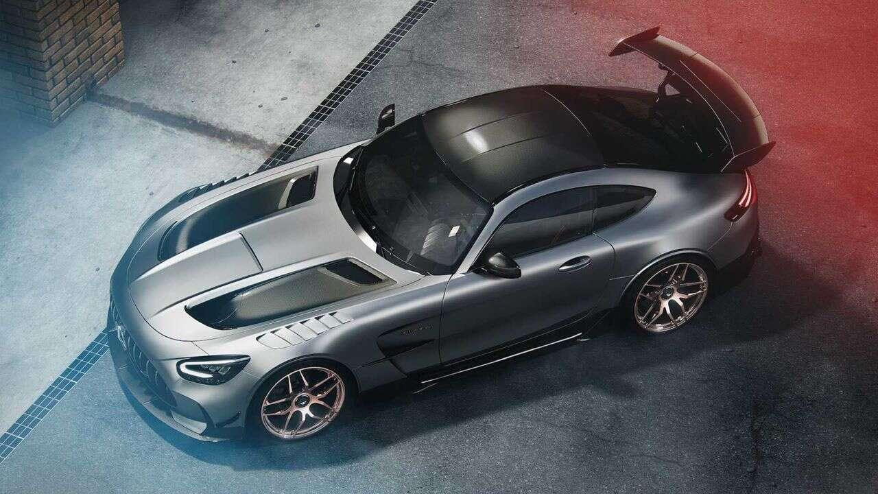 pierwszy tuning AMG GT Black Series, tuning AMG GT Black Series, AMG GT Black Series