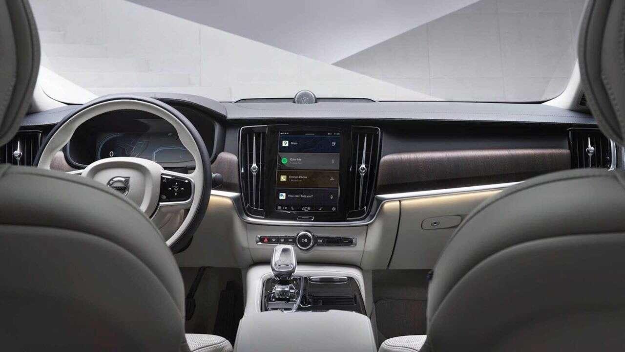 System bazujący na Androdzie, Volvo XC60, S90, V90