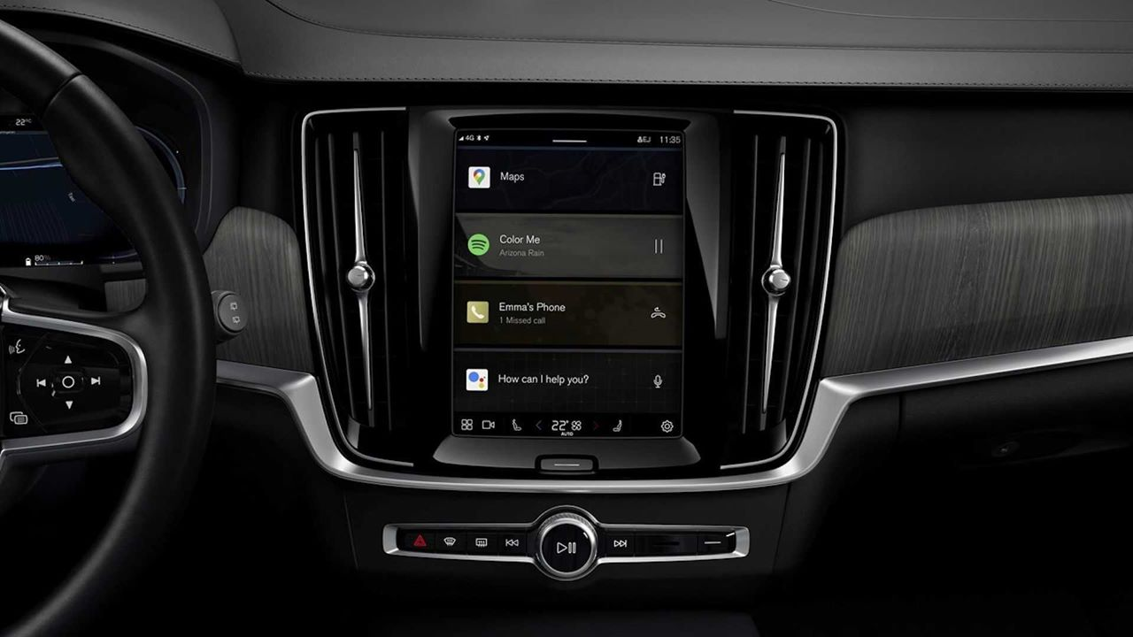 System bazujący na Androdzie trafi do Volvo XC60, S90 i V90