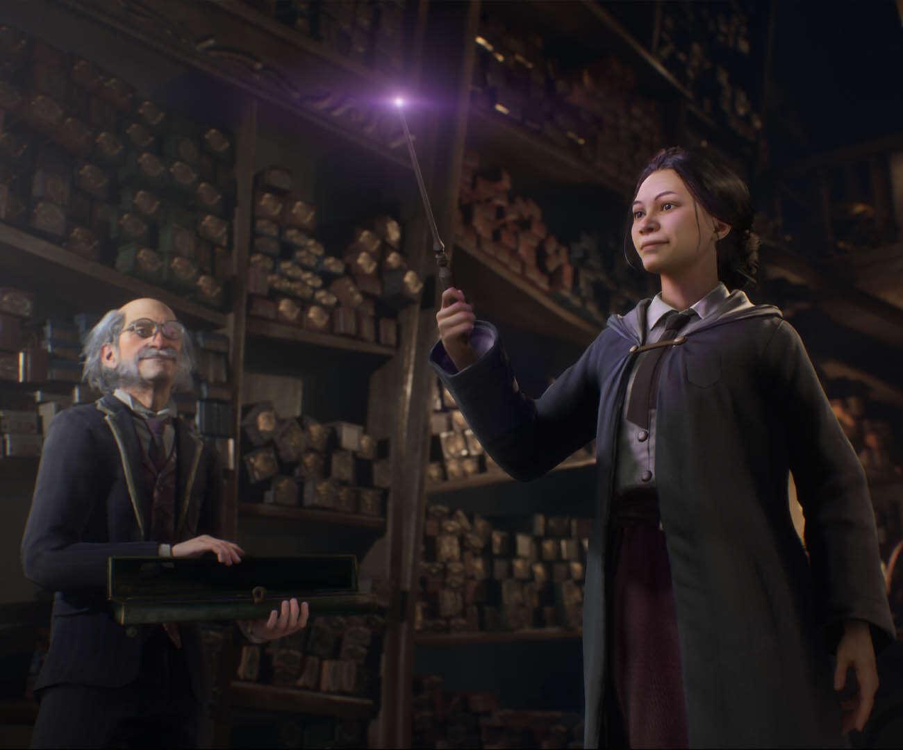 postacii Hogwarts Legacy.