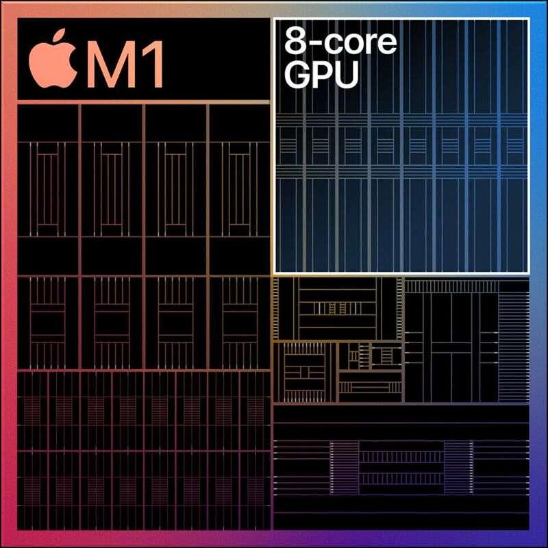 Wydajność Ethereum procesora Apple M1
