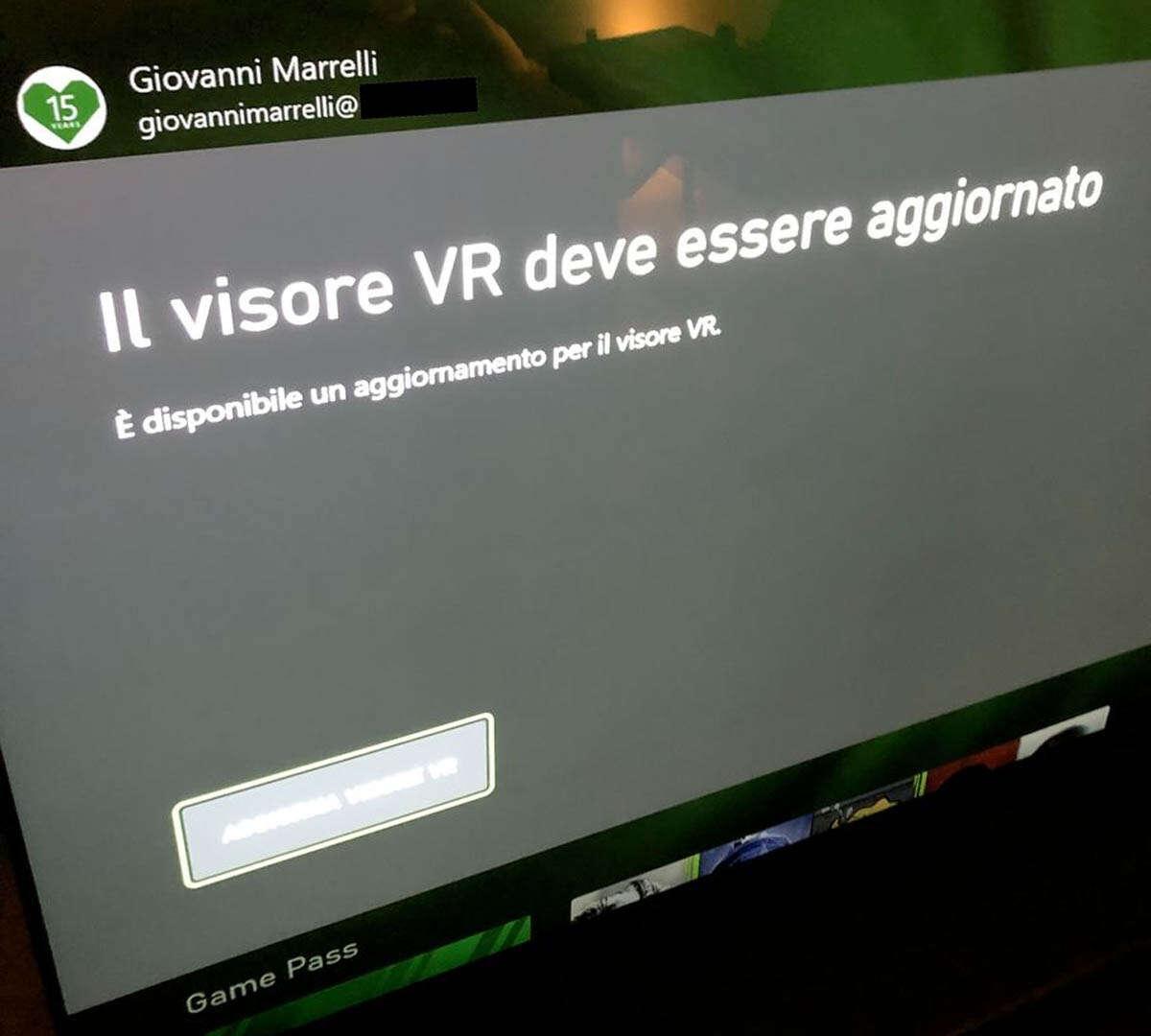 Xbox VR? Zaskakujący komunikat w systemie konsoli