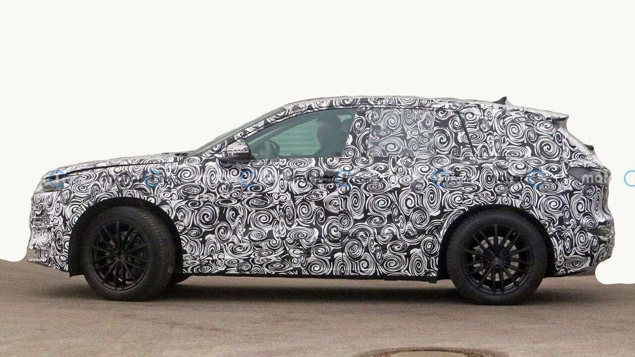Zdjęcia Audi Q5 E-Tron w testach. To odpowiednik Macan EV