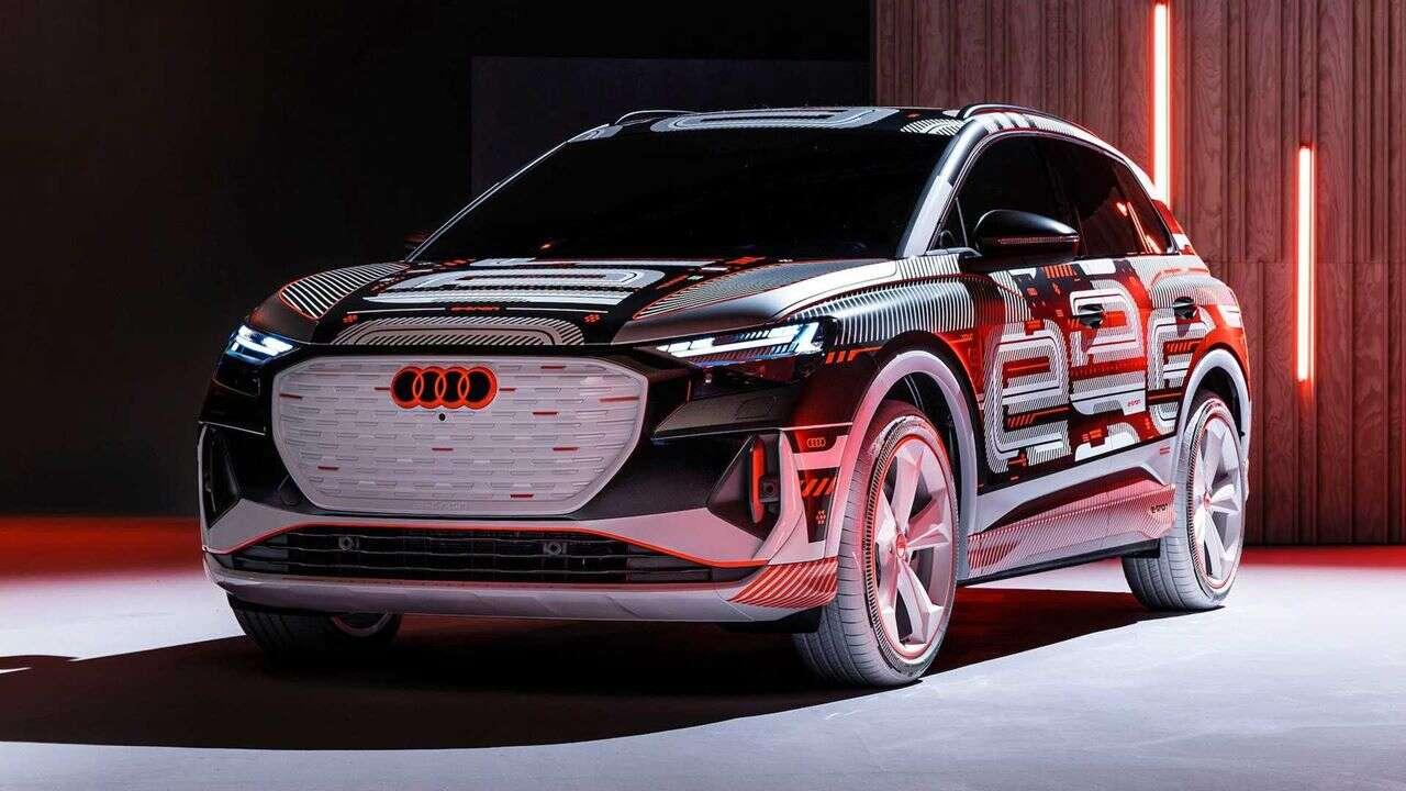 Zwiastun Audi Q4 E-Tron, Audi Q4 E-Tron, kabina Audi Q4 E-Tron
