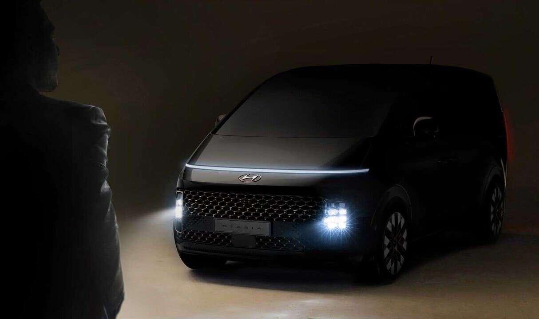 Zwiastun Hyundai Staria, nowy minivan, HYundai Staria