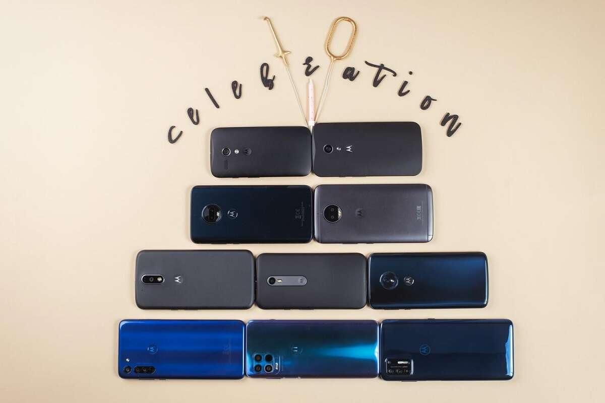 Motorola świętuje 10 generacji smartfonów serii moto G