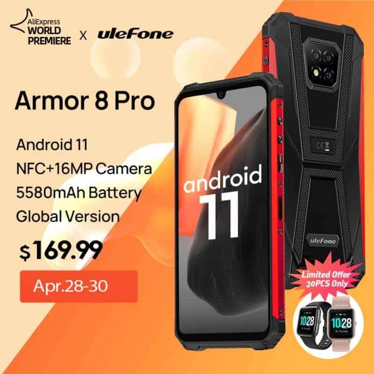 Wytrzymały smartfon jeszcze lepszy. Oto Armor 8 Pro
