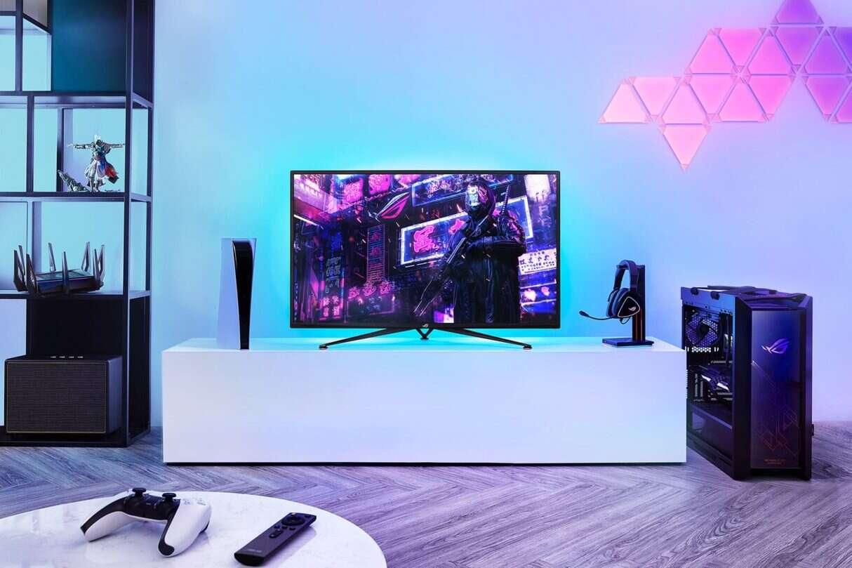 gamingowy monitor, ASUS Strix XG43UQ,