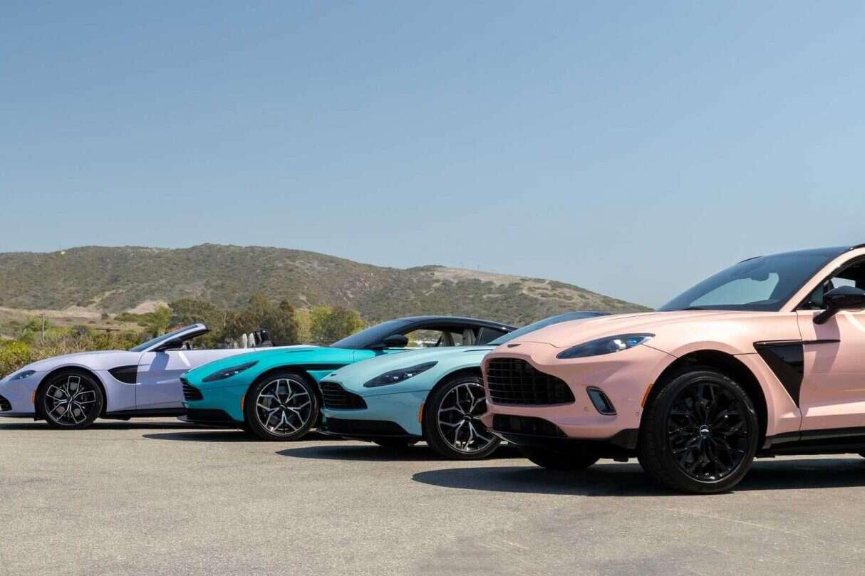 Aston Martin chce podbić sezon letni, V12 Speedster DBR1, V12 Speedster DBR1, Aston Martin V12 Speedster DBR1