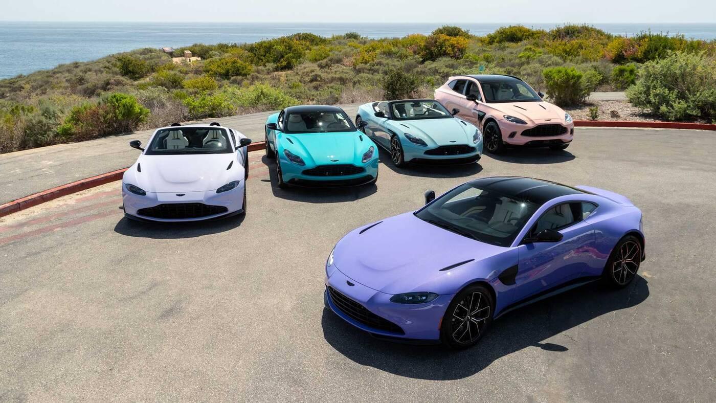 Aston Martin chce podbić sezon letni z V12 Speedster DBR1 i nie tylko