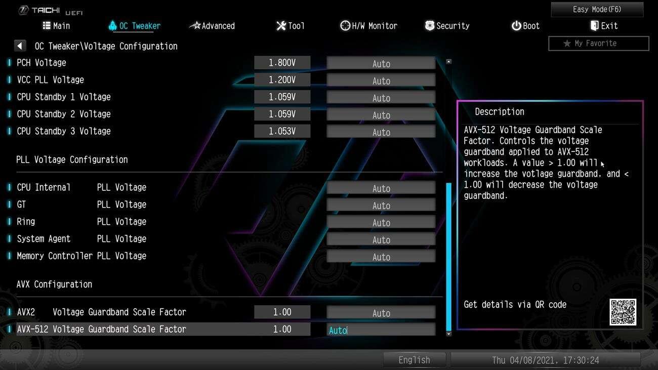 Test płyty głównej ASRock Z590 Taichi