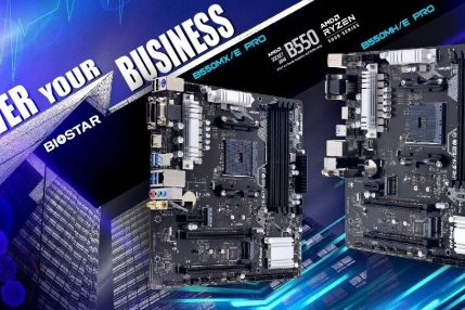 Biostar B550MXE Pro i B550MHE Pro