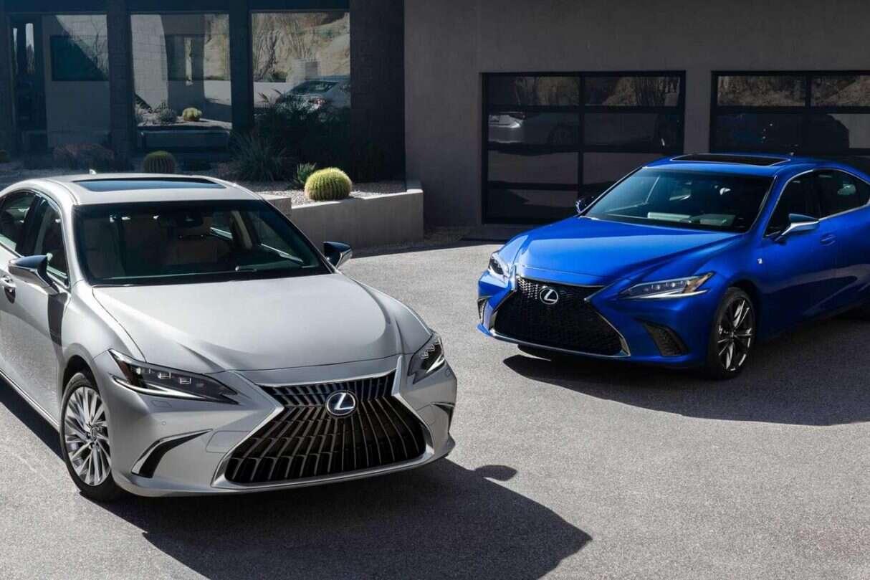Lexus ES 2022, Lexus ES Facelift