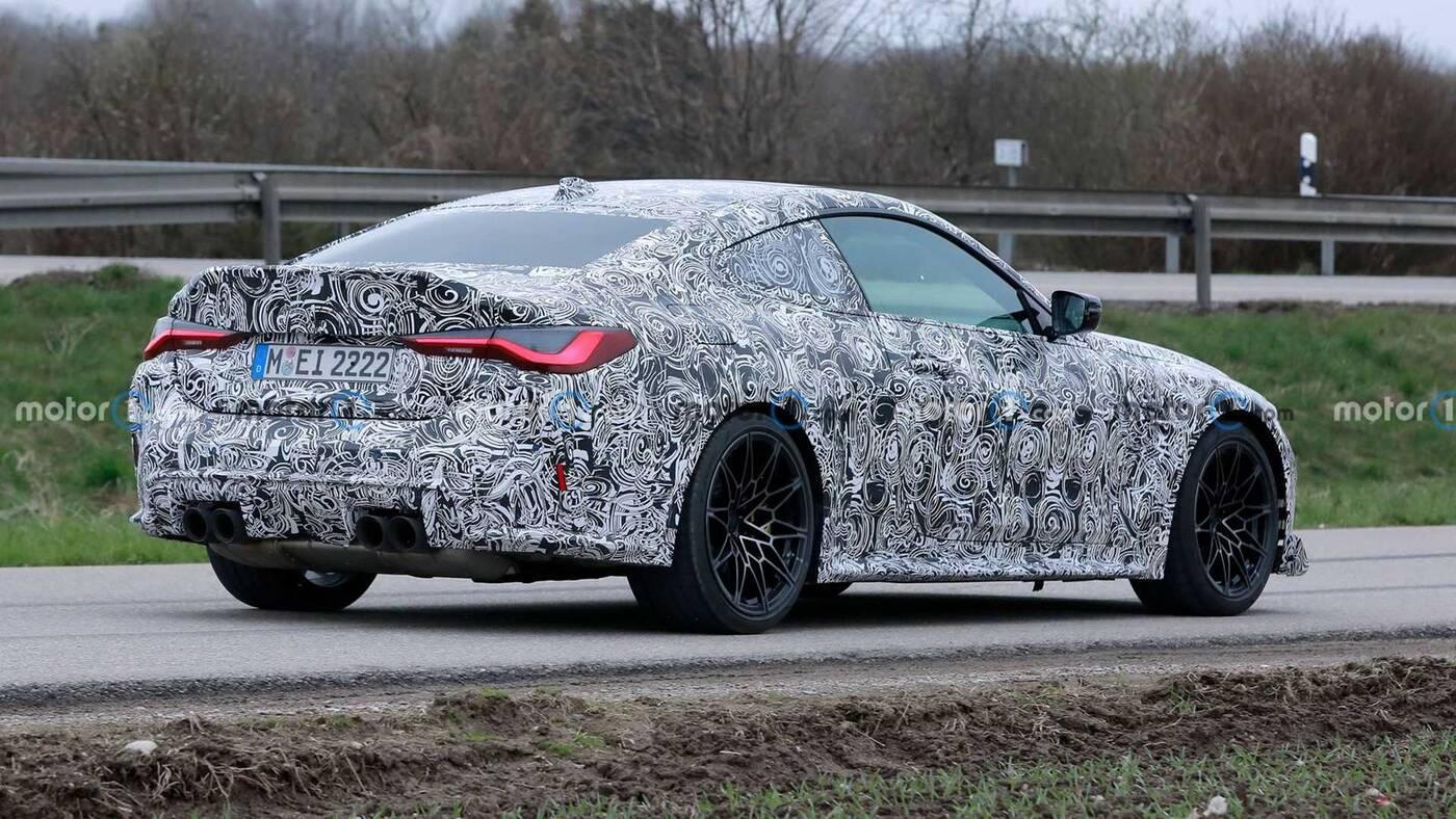 Co pokazują zdjęcia szpiegowskie BMW M4 CSL? Nowość nadchodzi