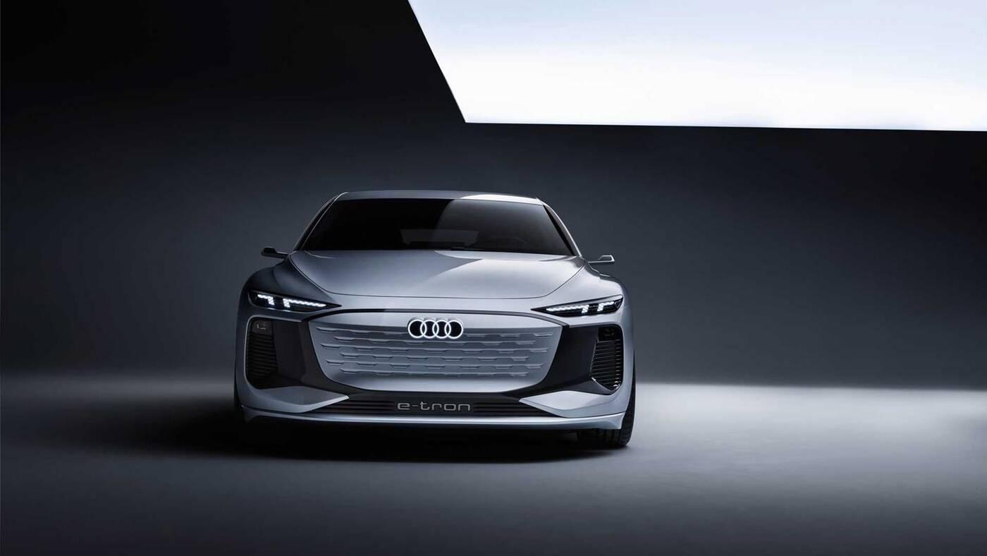 Co pokazuje koncept Audi A6 E-Tron z elektrycznym napędem?