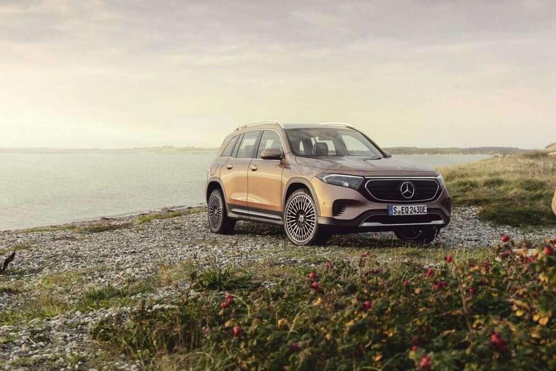 Debiut Mercedesa EQB 2022, lektryczny crossover nawet w wersji AMG, Mercedesa EQB 2022, Mercedes EQB 2022