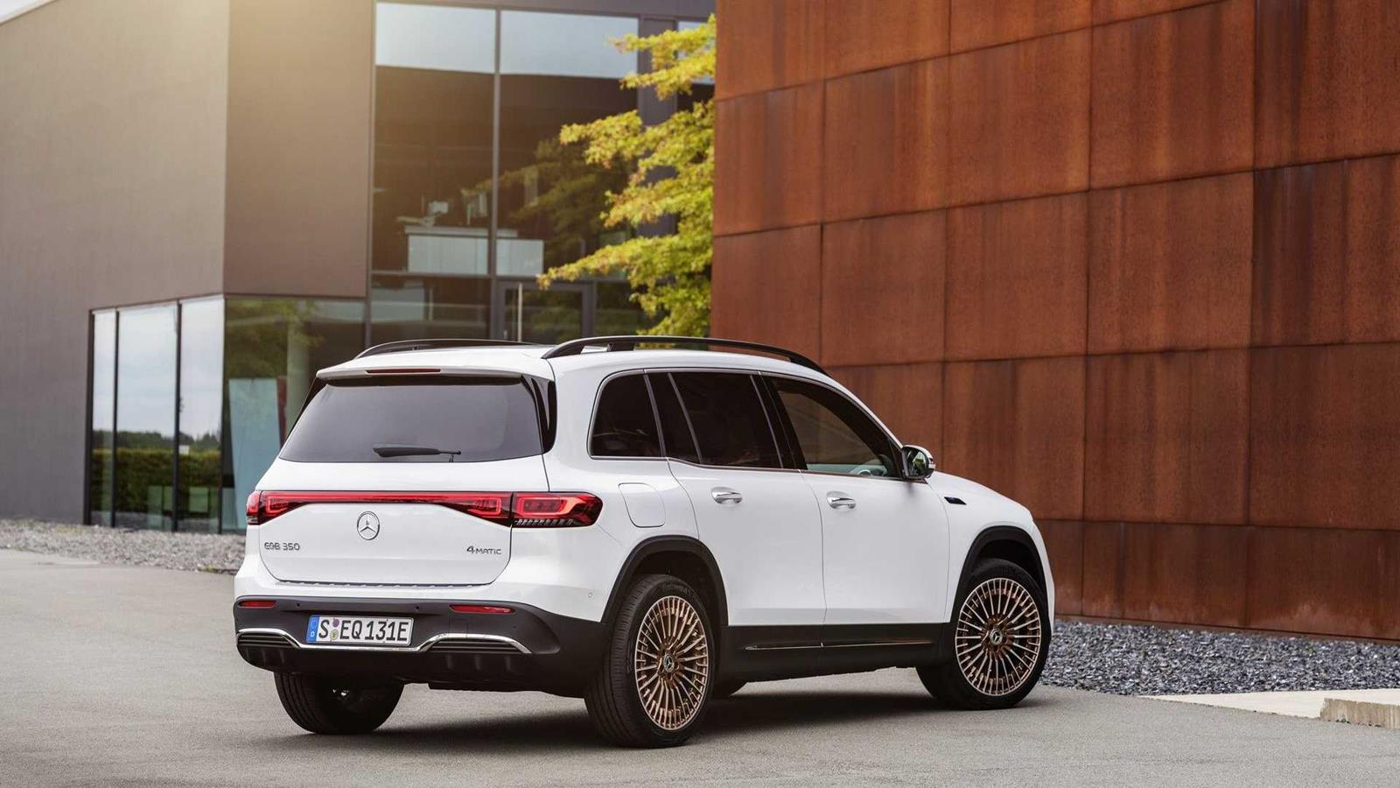 Debiut Mercedesa EQB 2022. Elektryczny crossover nawet w wersji AMG