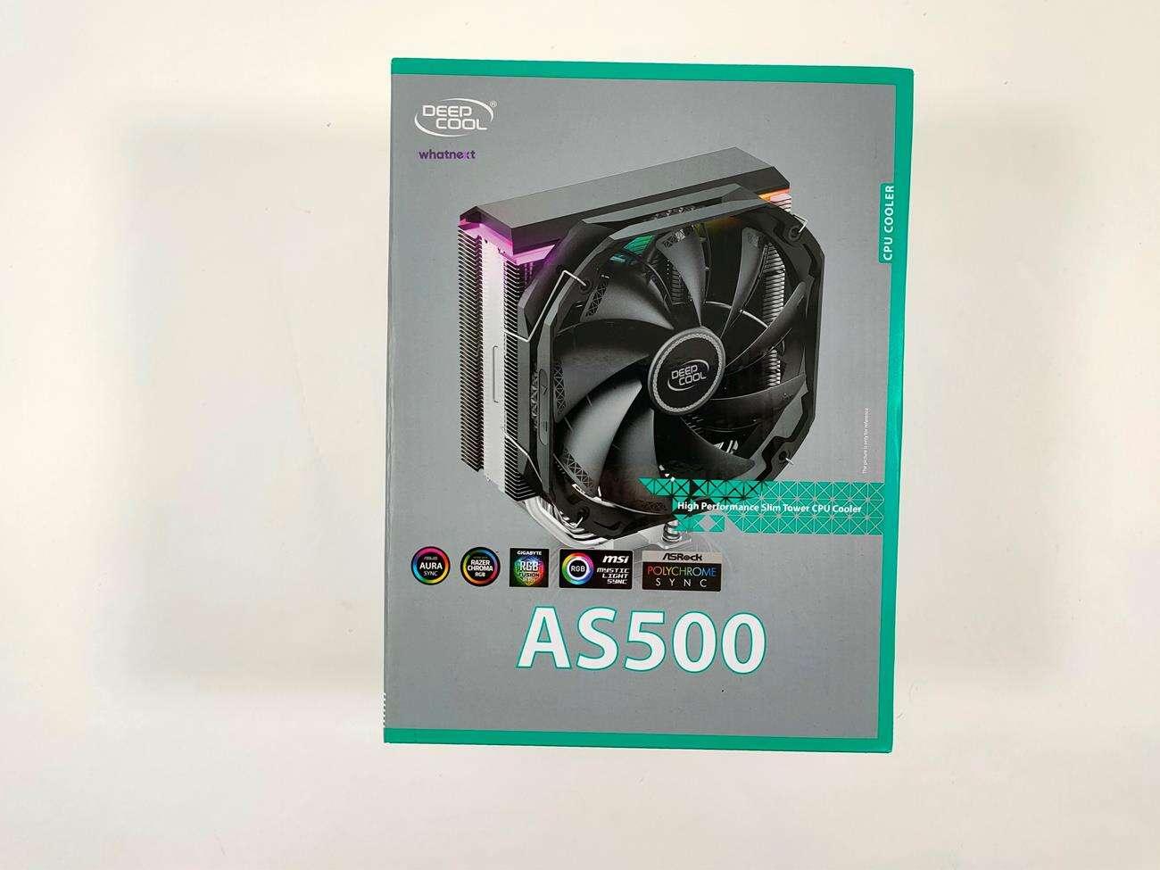 test Deepcool AS500, recenzja Deepcool AS500, opinia Deepcool AS500