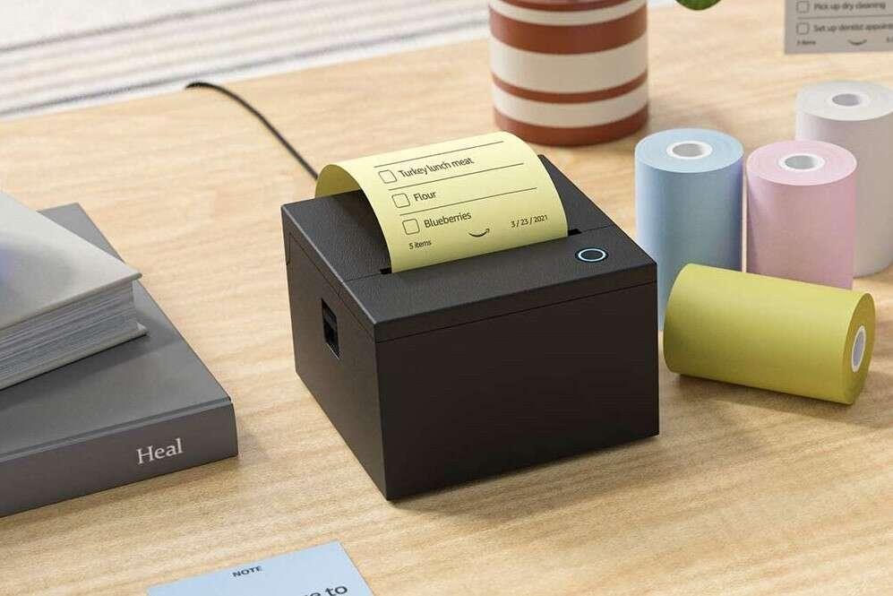 Drukarka przypominajek od Amazonu, Smart Sticky Note Printer, drukarka przypominajek