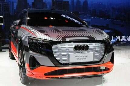 Elektryczny SUV Audi ujawniony, Elektryczny SUV Audi