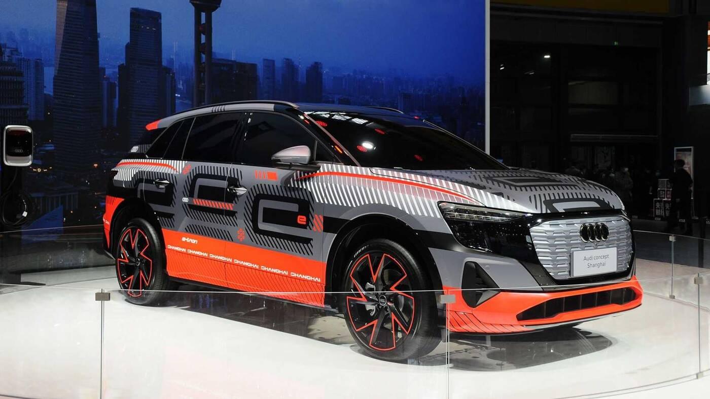 Elektryczny SUV Audi ujawniony. Czyżby kopiuj-wklej Volkswagena?