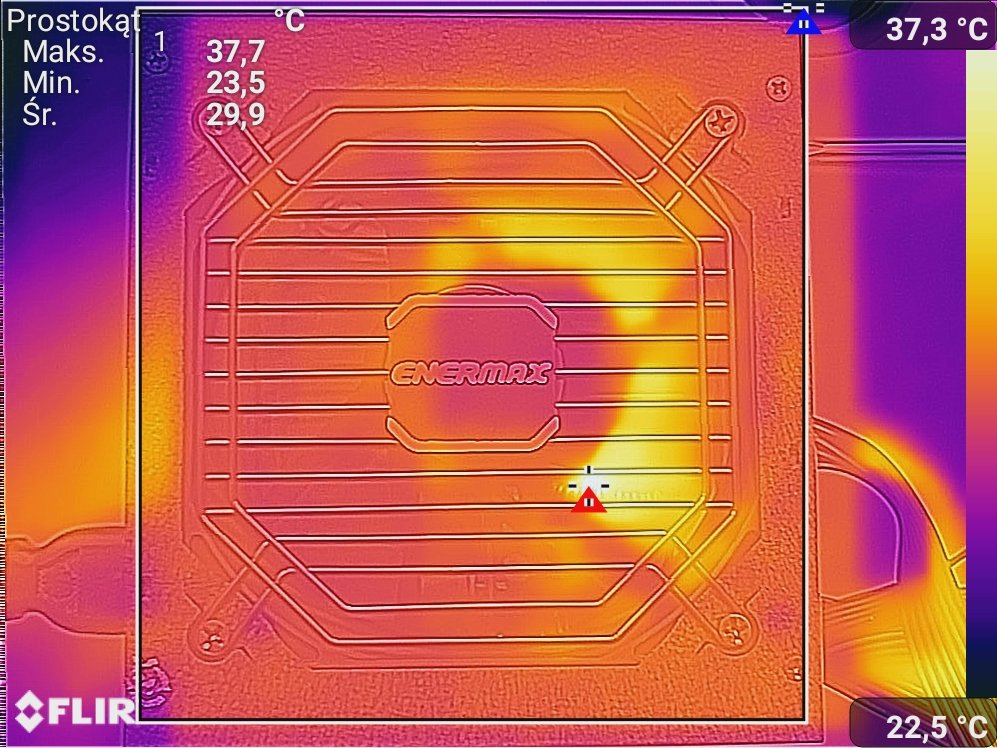 Test zasilacza Enermax MarbleBron 550W
