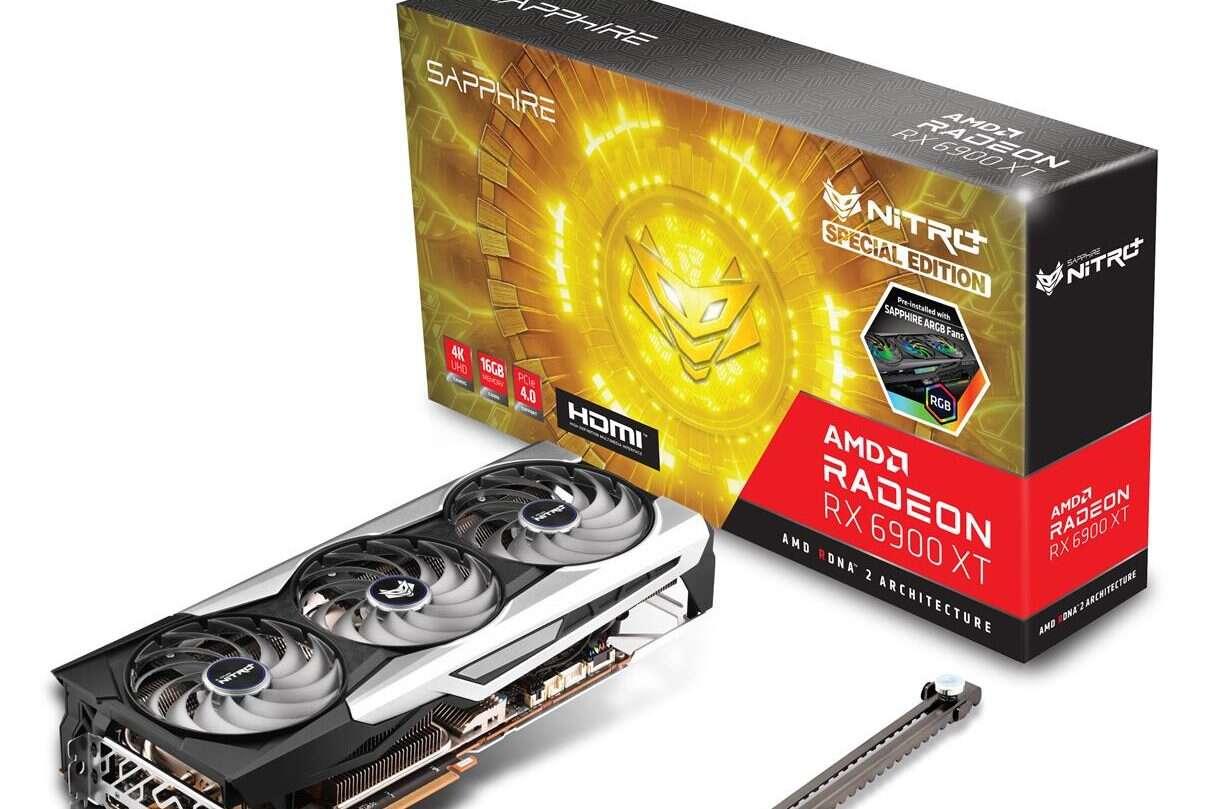 specjalność karty Radeon RX 6900 NITRO+ Special Edition Sapphire, Radeon RX 6900 NITRO+ Special Edition, Sapphire Radeon RX 6900 NITRO+ Special Edition, RX 6900 NITRO+ Special Edition