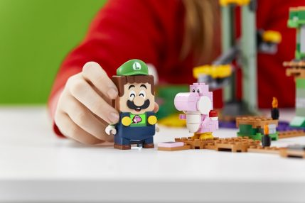 Luigi dołącza do świata LEGO Super Mario!