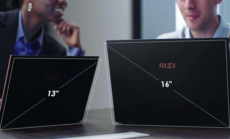 laptopy MSI Summit E13 i E1