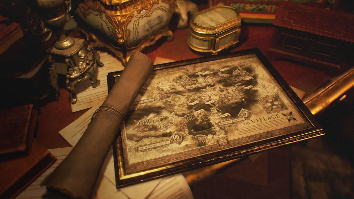Mapa Resident Evil Village oraz tajemnicza Miranda na grafikach z gry