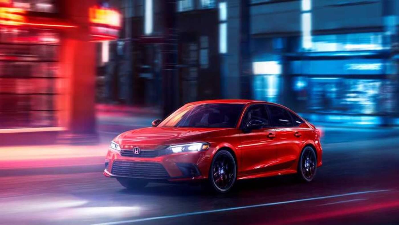 Nowa Honda Civic zadebiutowała, Nowa Honda Civic, Nowa Honda Civic 2022, Honda Civic 2022, Honda Civic