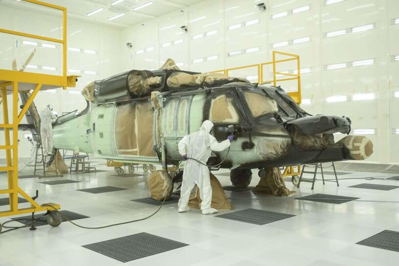 lakiernia PZL Mielec, Lockheed Martin PZL Mielec