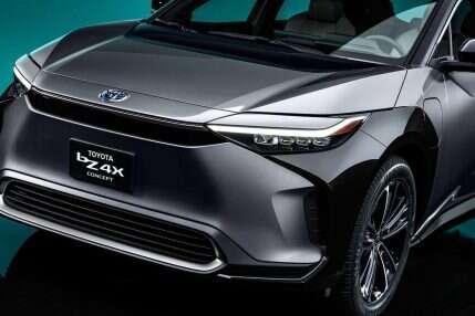 Nowoczesny elektryczny crossover, Toyota bZ4X
