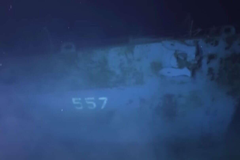 wrak niszczyciela USS Johnston