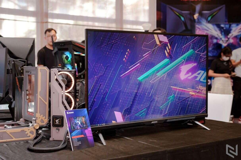 gamingowy monitor AORUS FV43U od Gigabyte, gamingowy monitor AORUS FV43U, AORUS FV43U