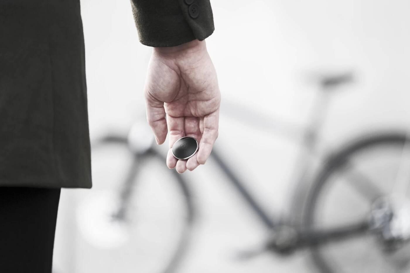 PentaLock pokazuje środkowy palec złodziejom rowerów