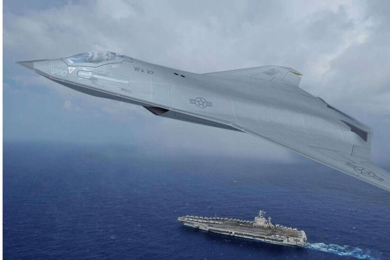 myśliwiec szóstej generacji marynarki USA